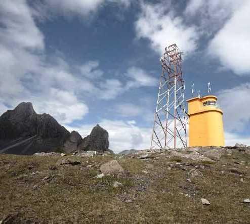 Montaña en Faro de Hvalnes