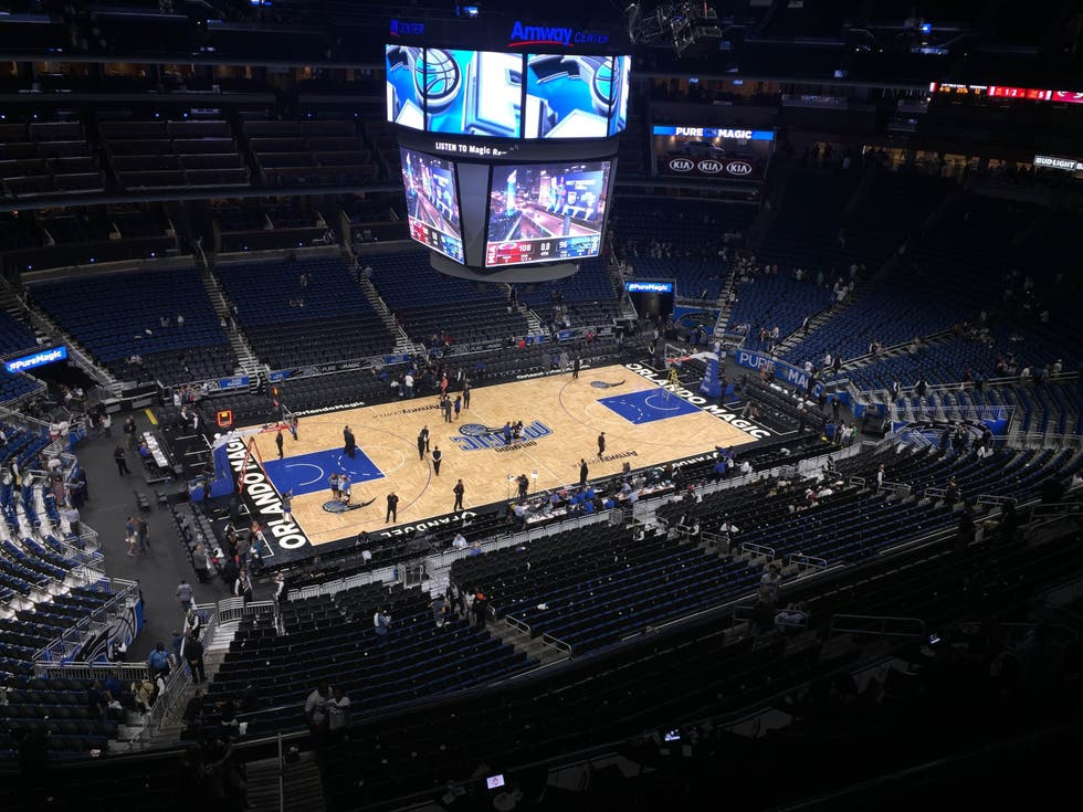 Estadio en Amway Center