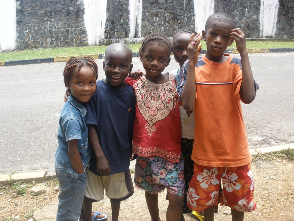 People in Liberia