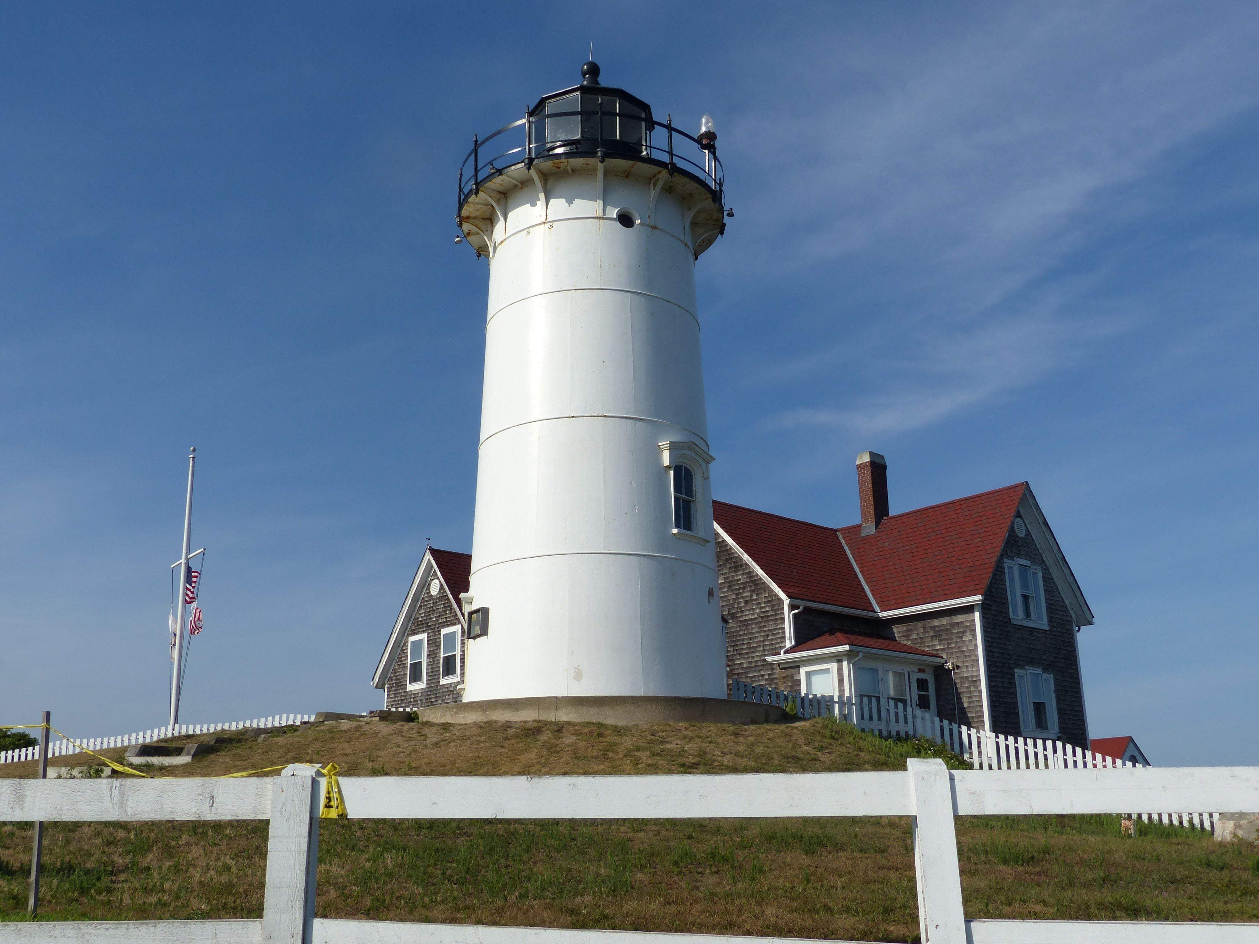 Lighthouse in Woods Hole
