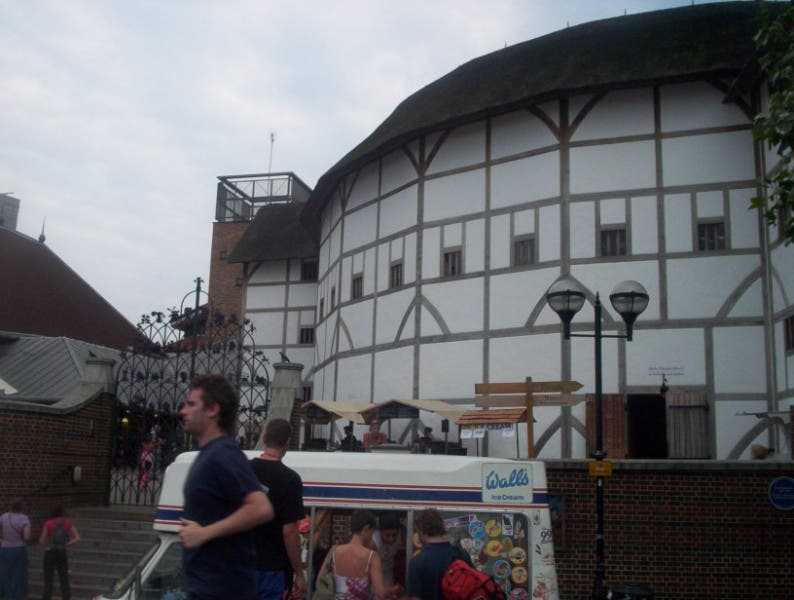 Parco divertimenti a The Globe Theatre
