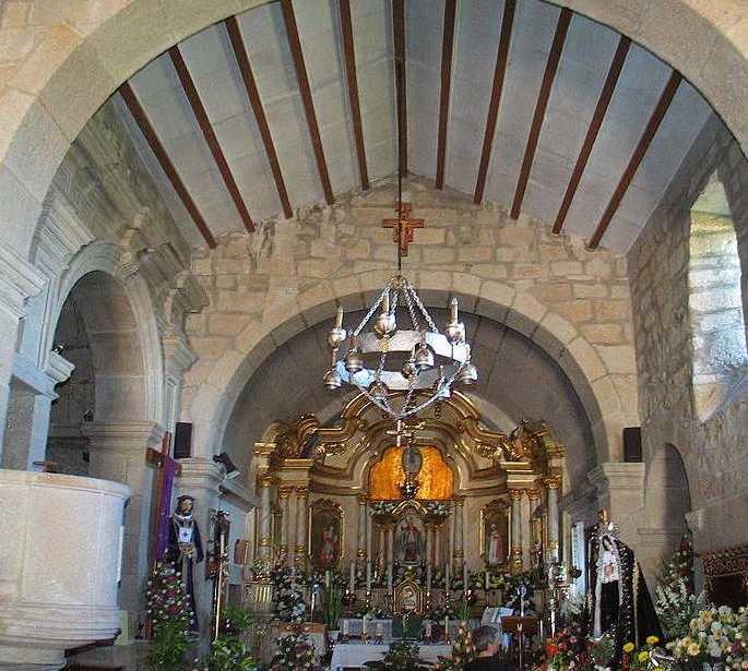 Arco en Iglesia de San Martin