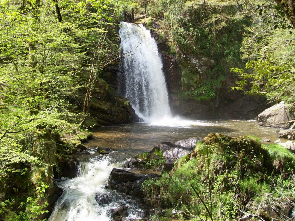 Waterfall in Albussac