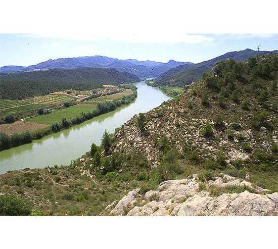 Lago de Montaña en Xerta