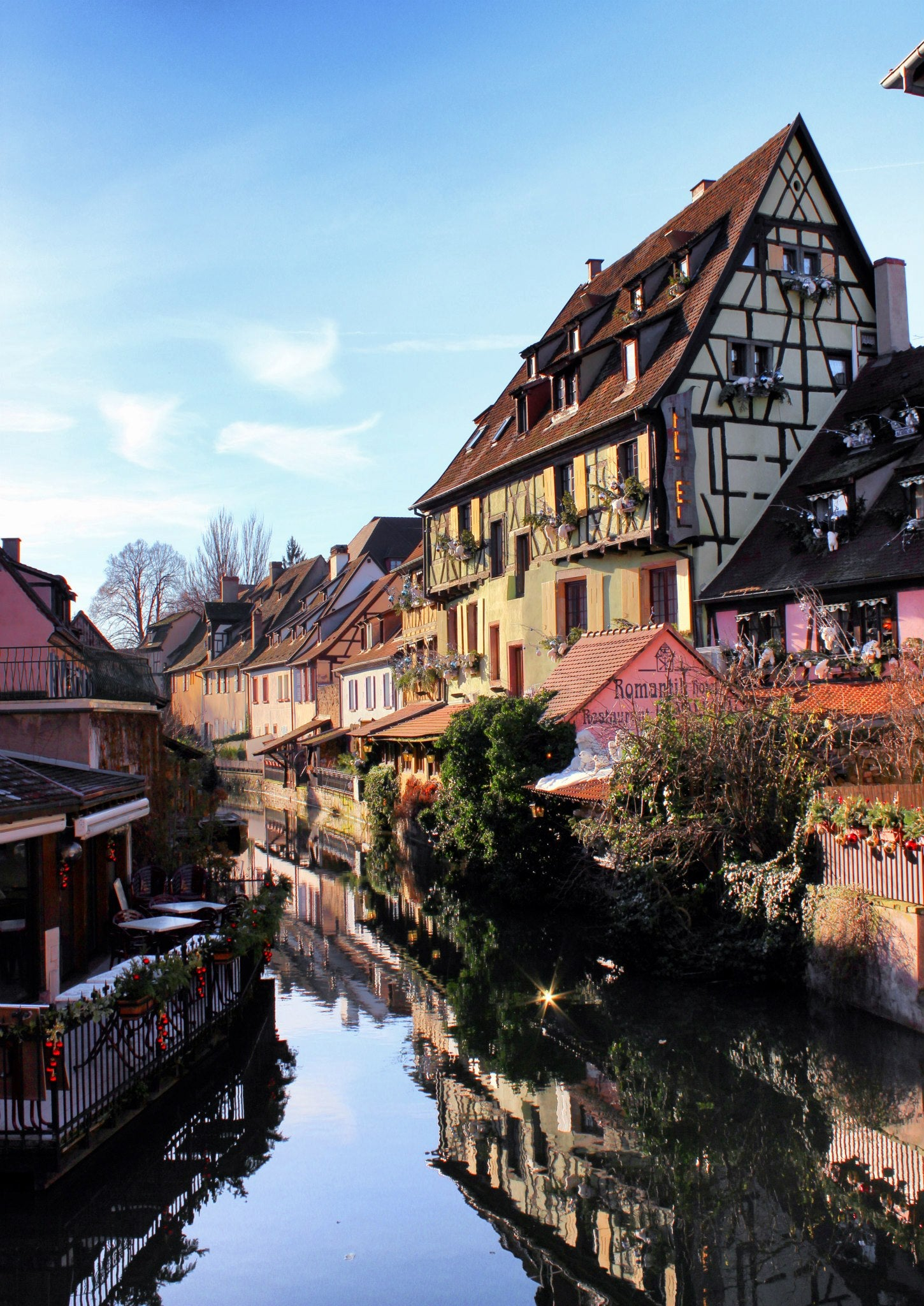 Water in Colmar