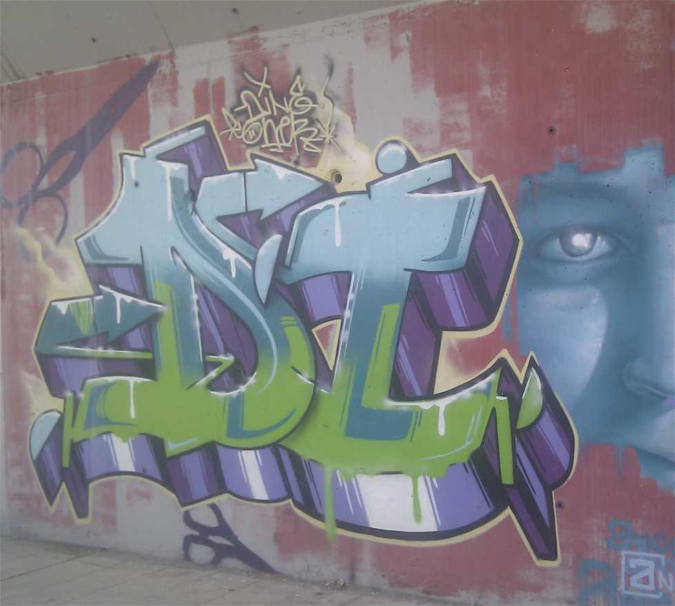 Graffiti en Arte Urbano