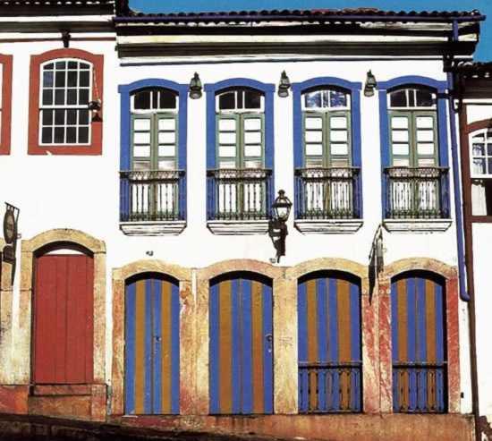 Fachada en Ouro Preto