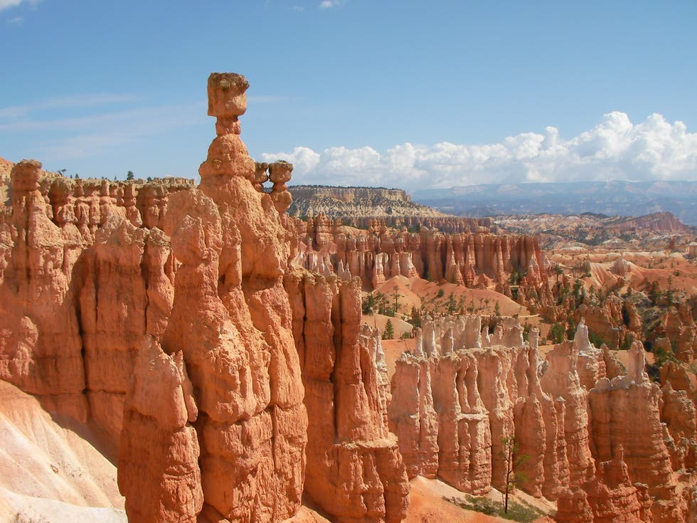 Arch in Bryce Canyon
