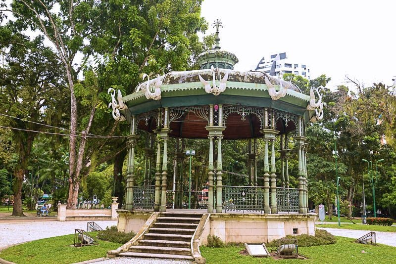 Gazebo in Coretos da Batista Campos