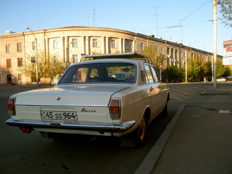 Coche familiar en Yerevan
