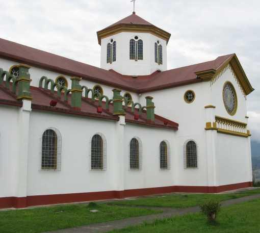 Fachada en Parroquia Nuestra Señora del Rosario