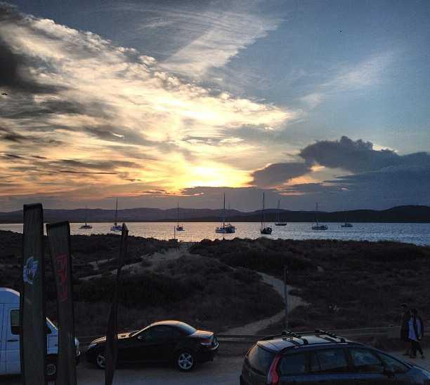 Cielo en Playa de Porto Pollo