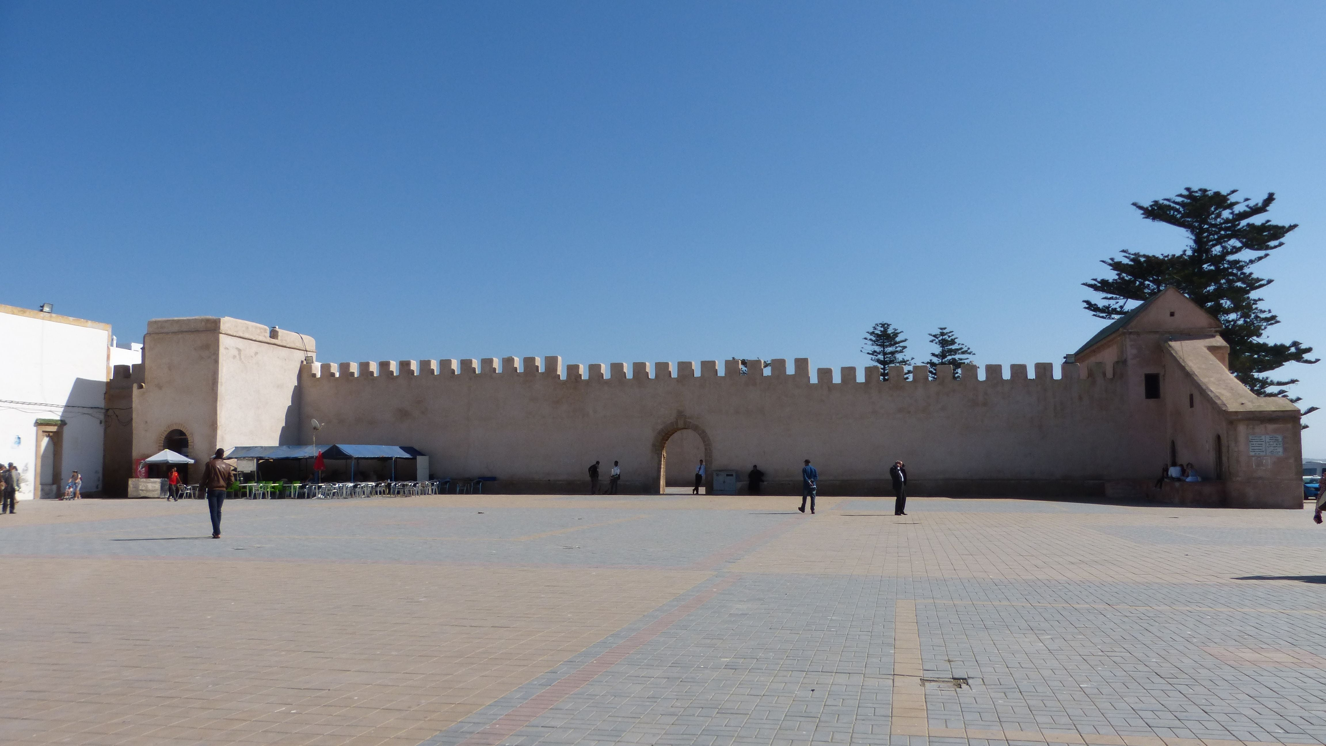 Tourism in Place Moulay Hassan