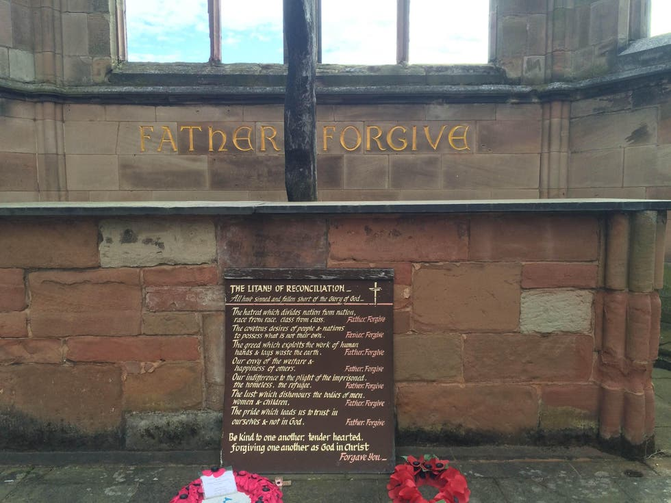 Memorial in Coventry
