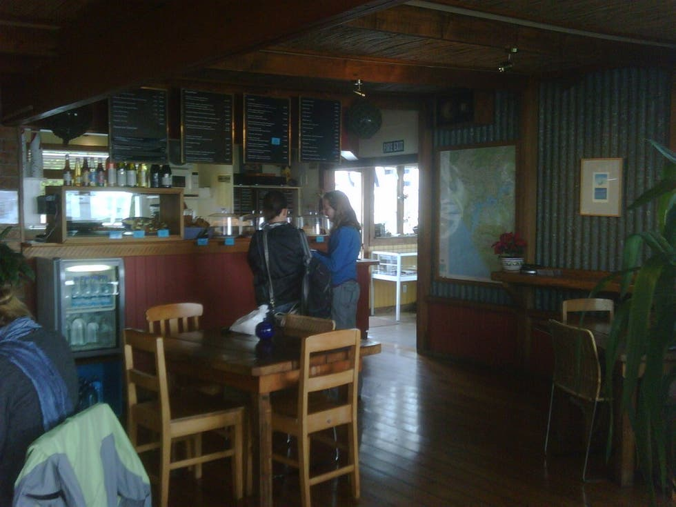 Restaurante en Boatshed cafe