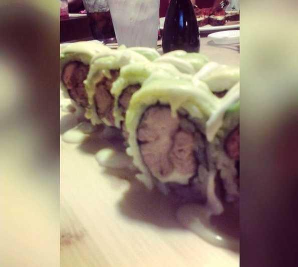 Comida en Hello Sushi