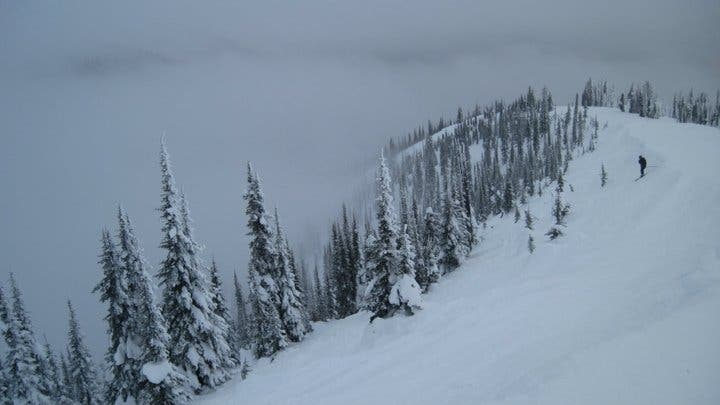 Snow in Whitefish