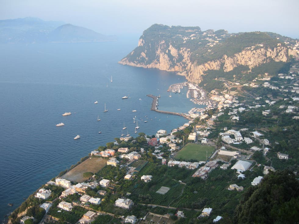 Aerial Photography in Anacapri