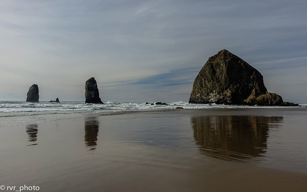 Mar en Cannon Beach