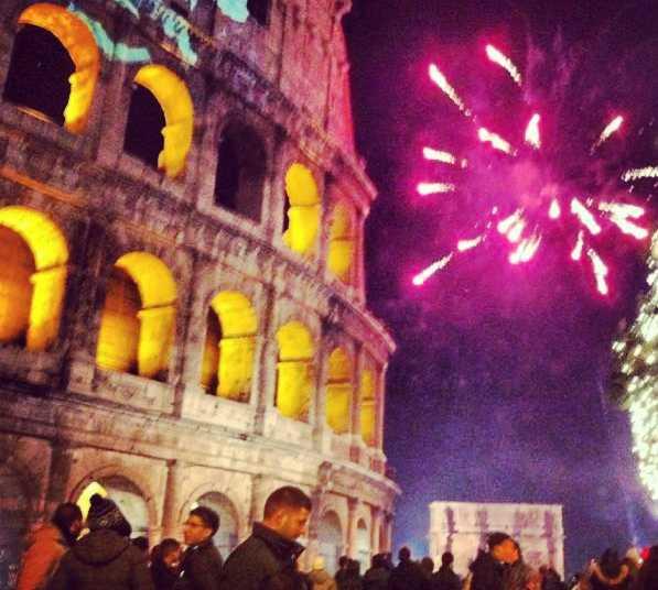 Parque de atracciones en Roma