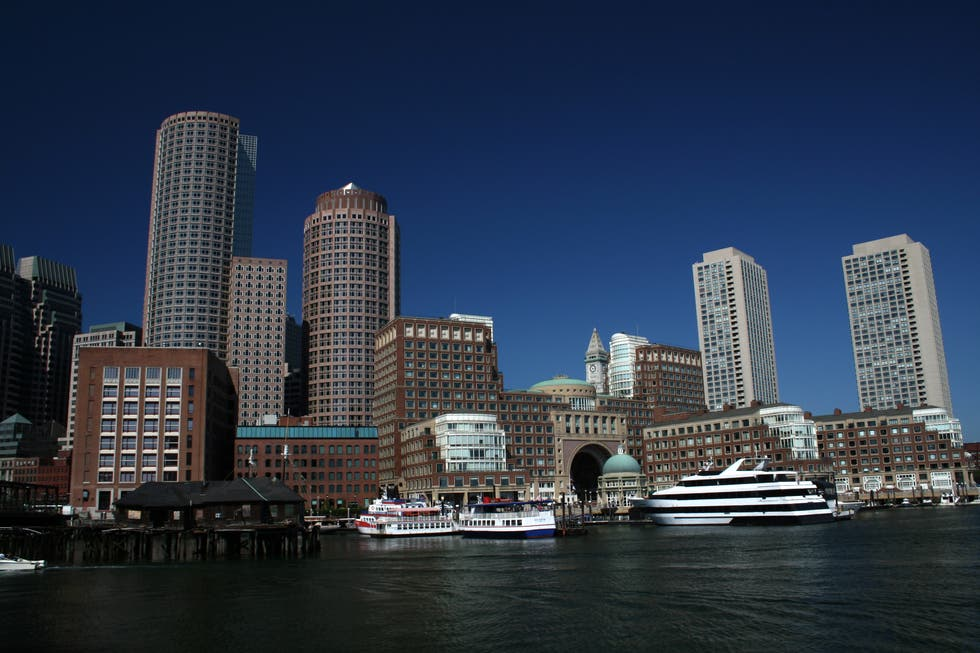 Skyline en Boston