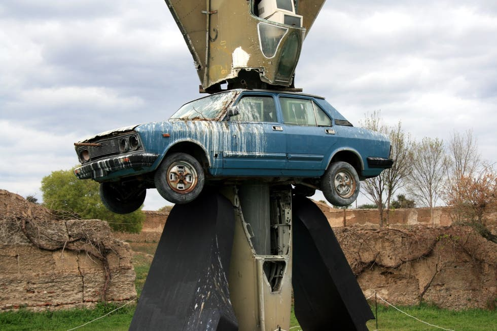 Jeep en Museo Wolf Vostell