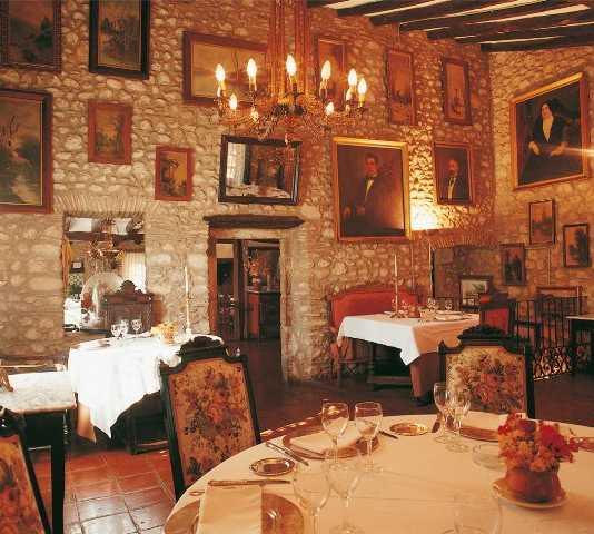 Historia antigua en Restaurante Mas Pau