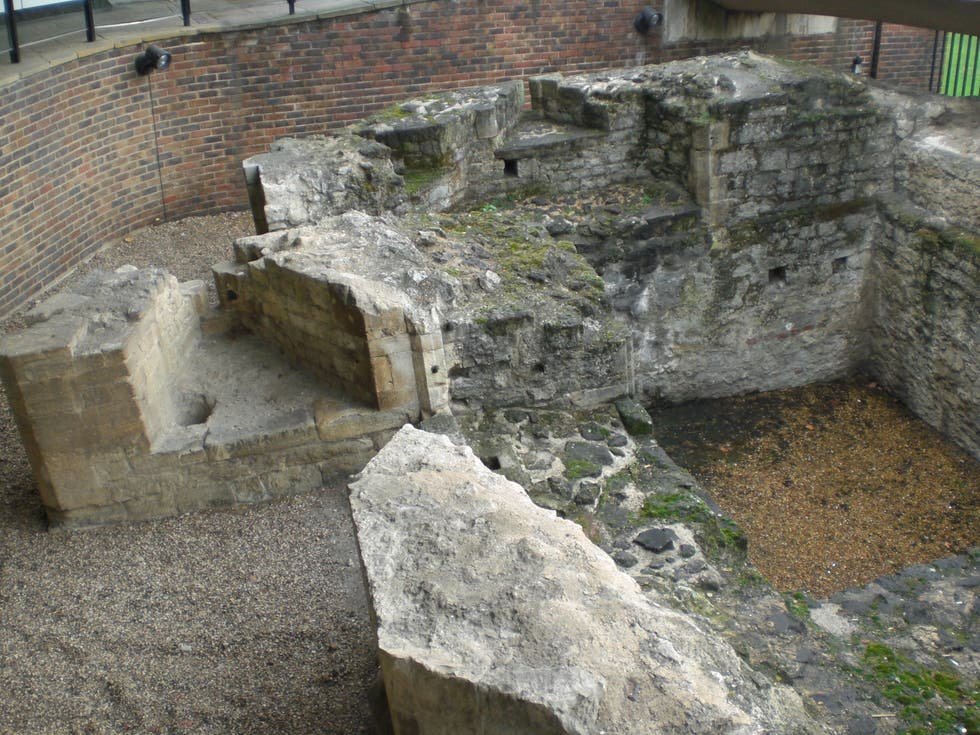 Storia antica a Medieval Gate of London Tower