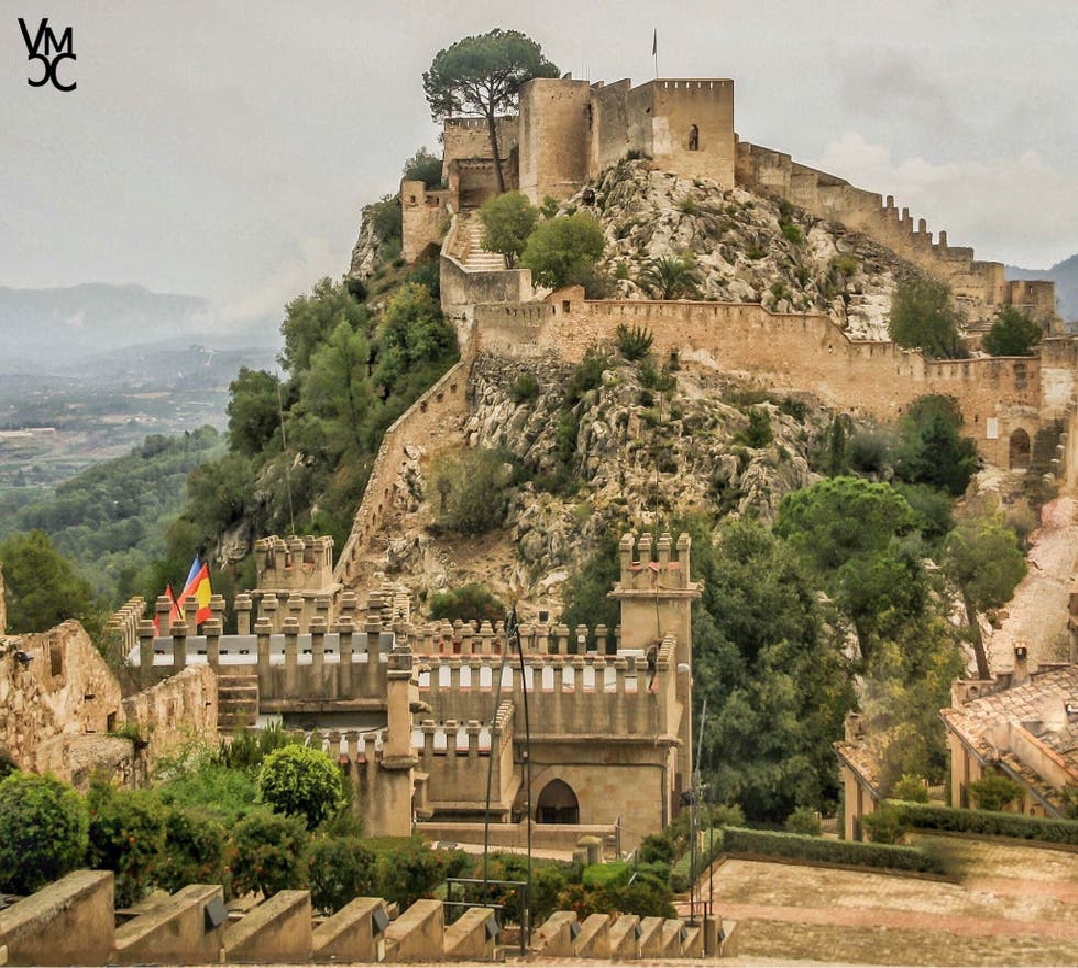 Pueblo en Castillo de Xàtiva