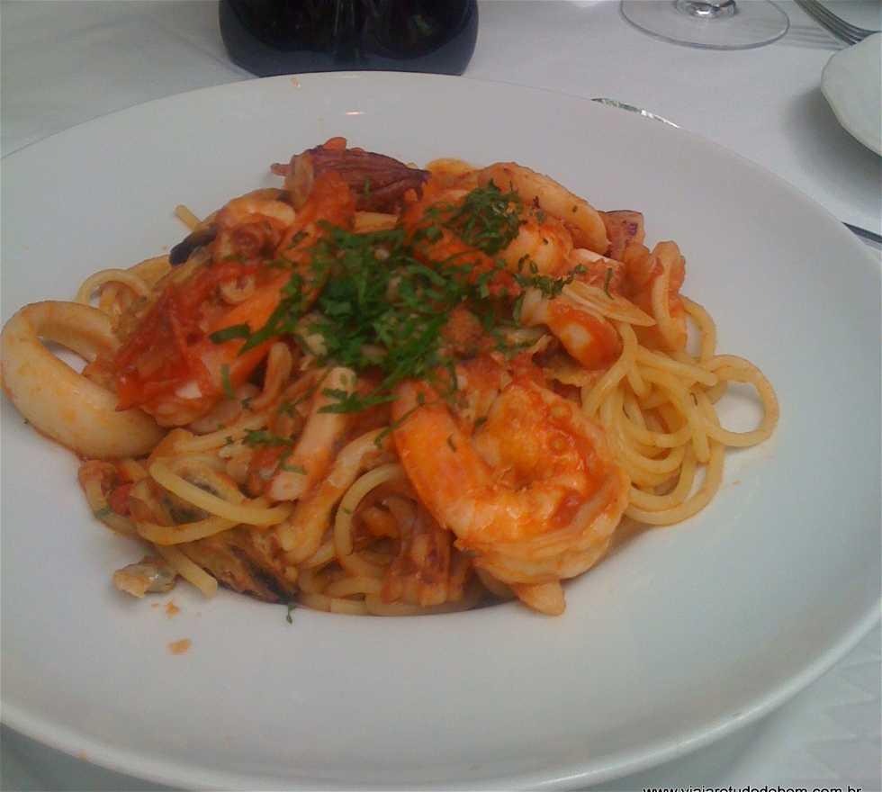 Plato en Restaurante Satyricon