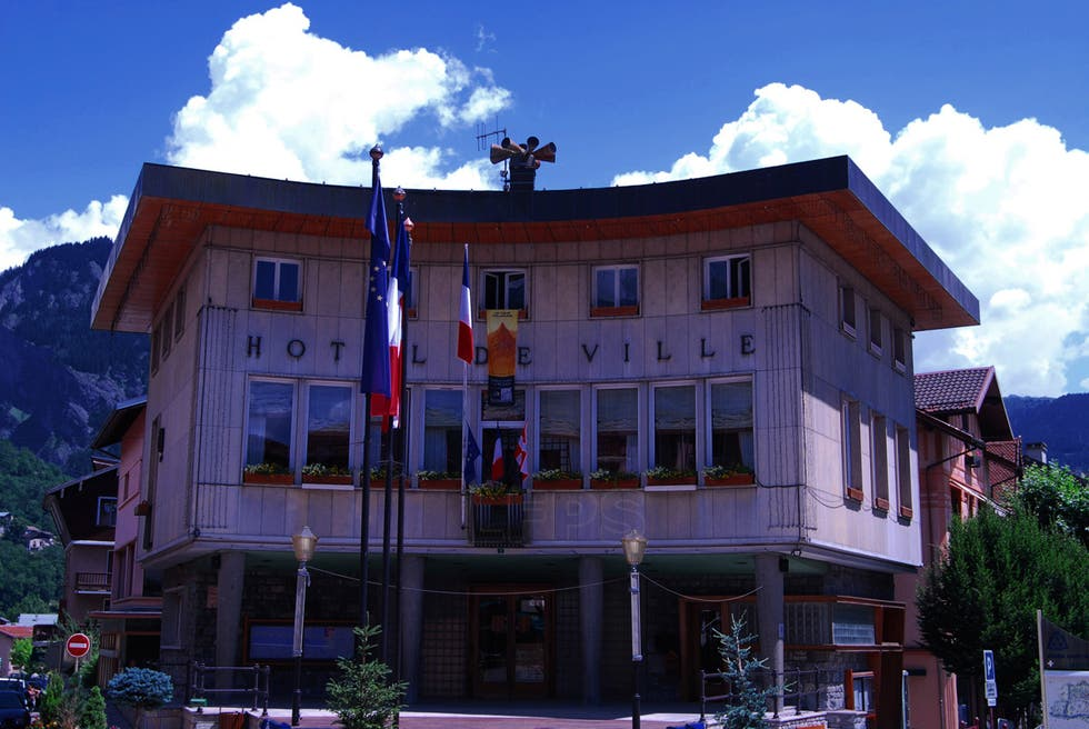 Facade in Bourg-Saint-Maurice