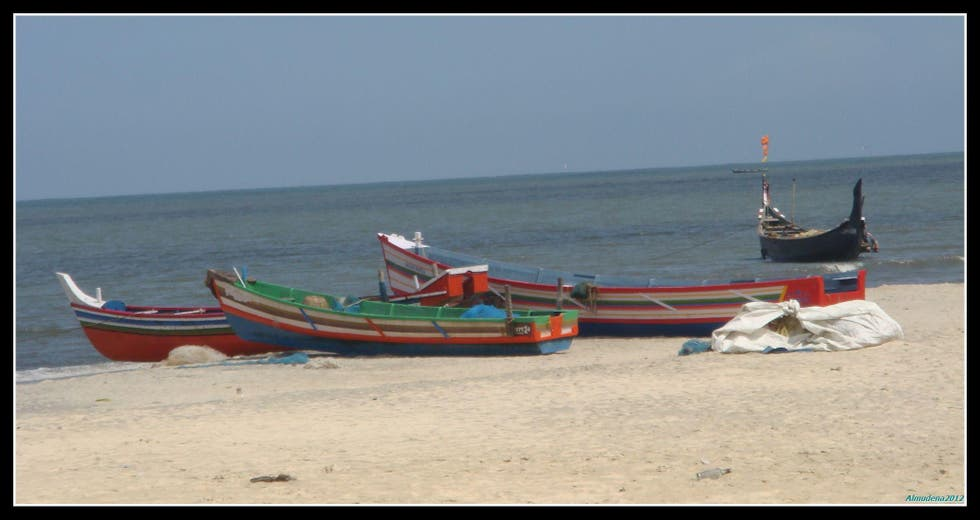 Beach in Alappuzha