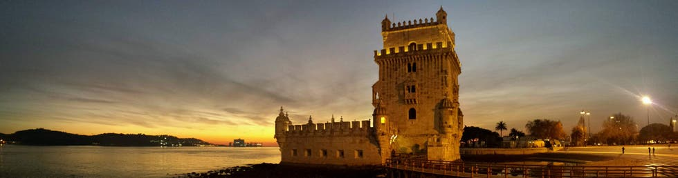 Dusk in Belém Tower