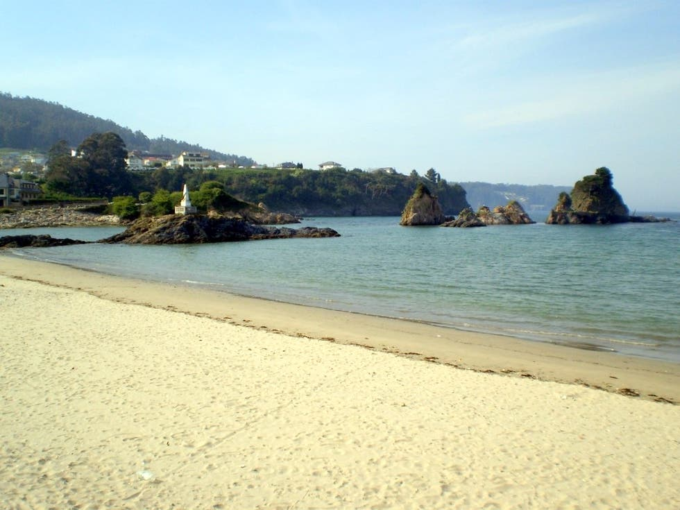 Beach in Viveiro