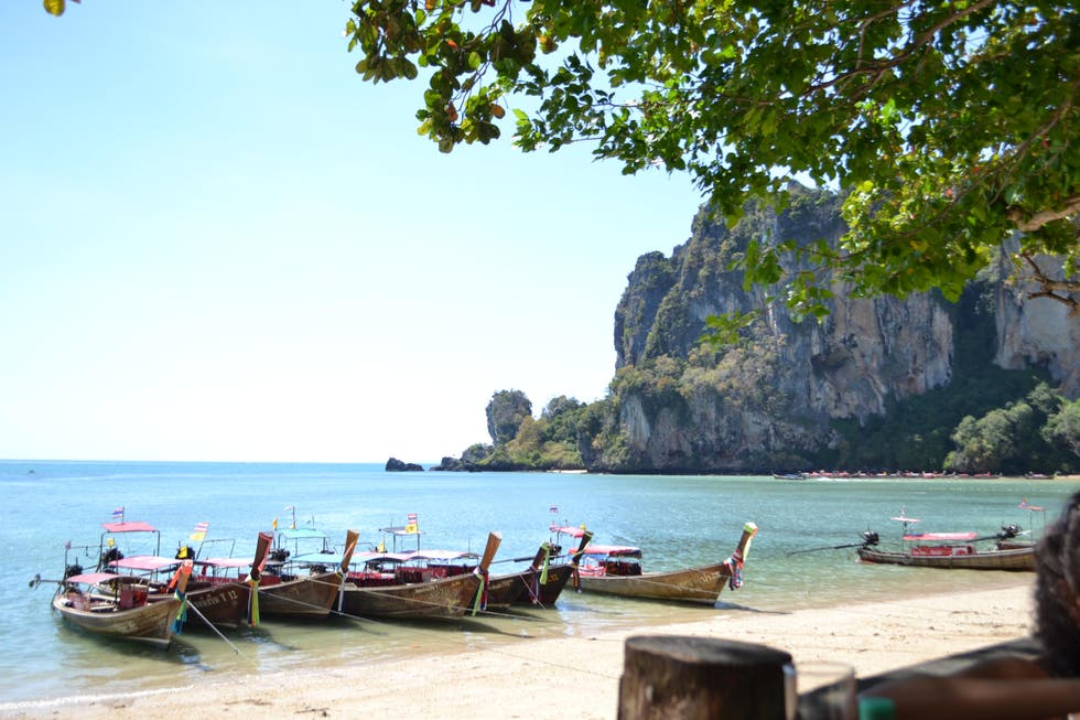 Mar en Railay Beach Viewpoint