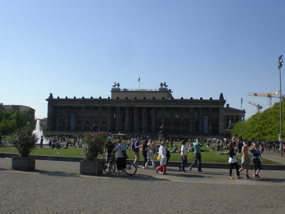 Tourism in Museum Island