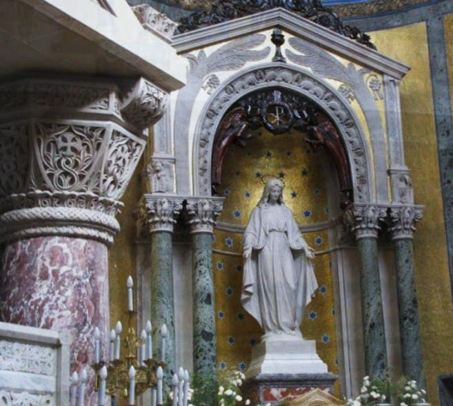 Altar em Oratório do Instituto Saturnino Unzué