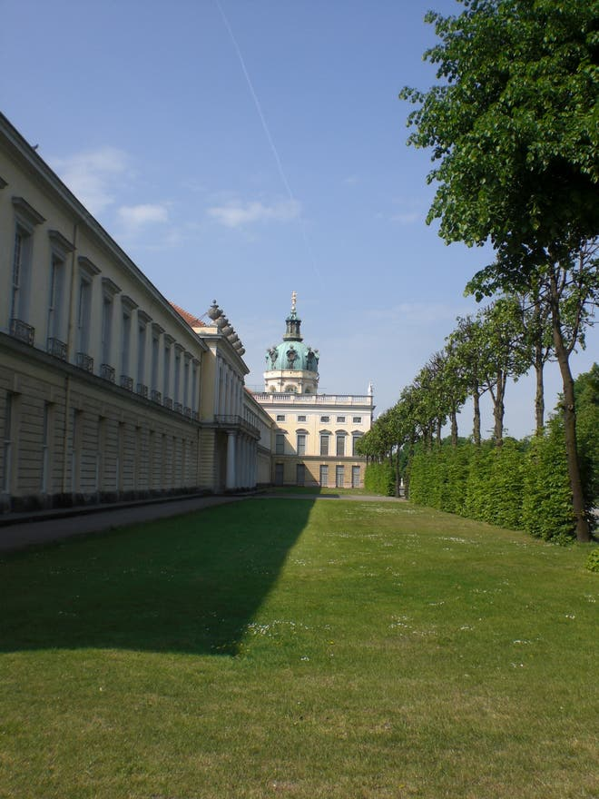 Pared en Palacio de Charlottenburg