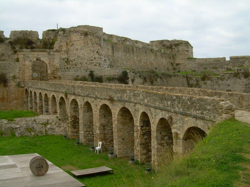 Historia antigua en kastro de Methoni