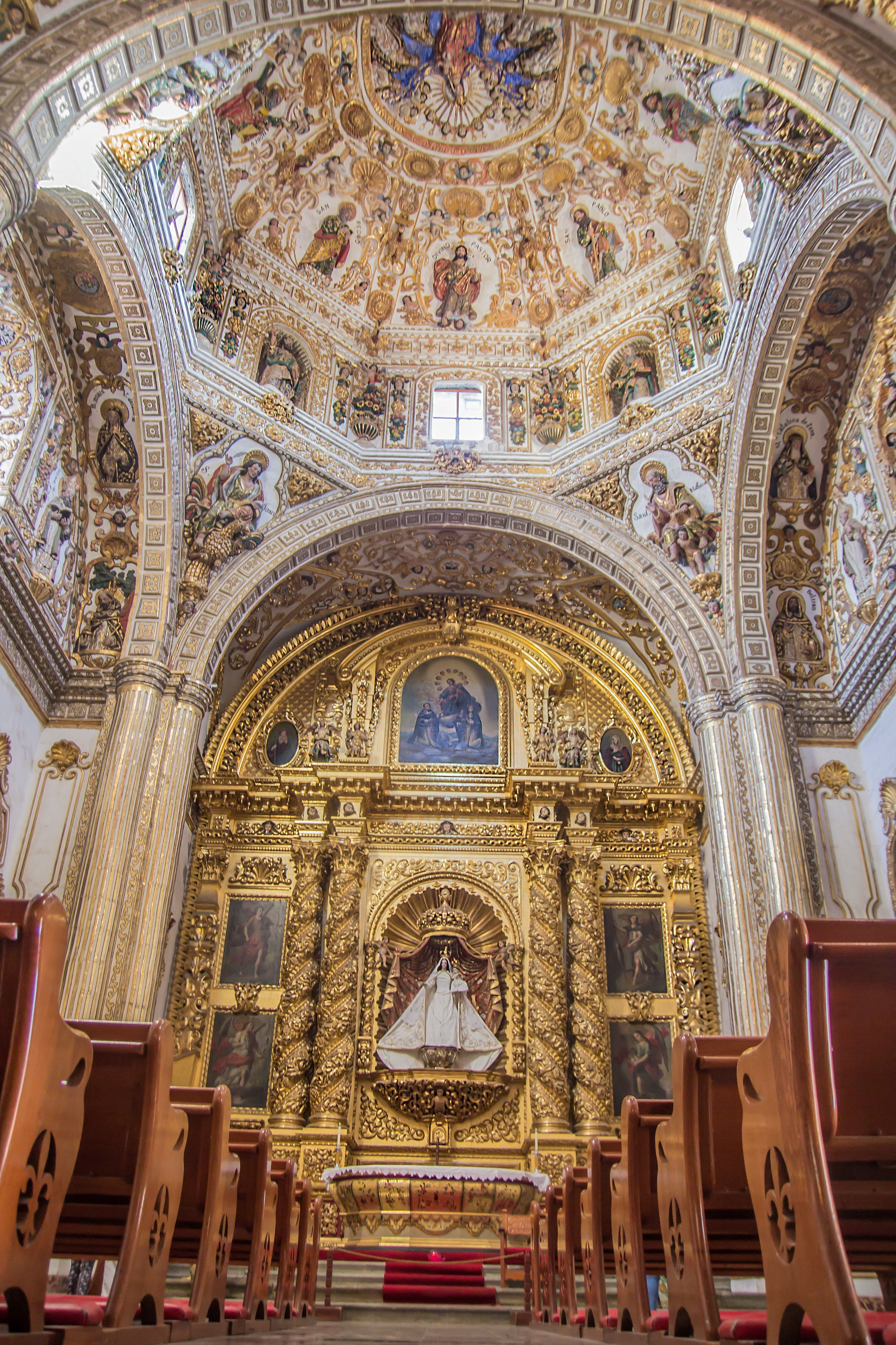 Shrine in Capilla del Rosario
