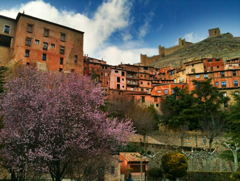 Paisaje en Albarracín