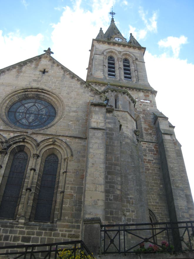 Cathedral in Bourbonne-les-Bains