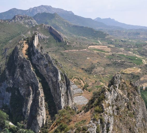 Montaña en Haro