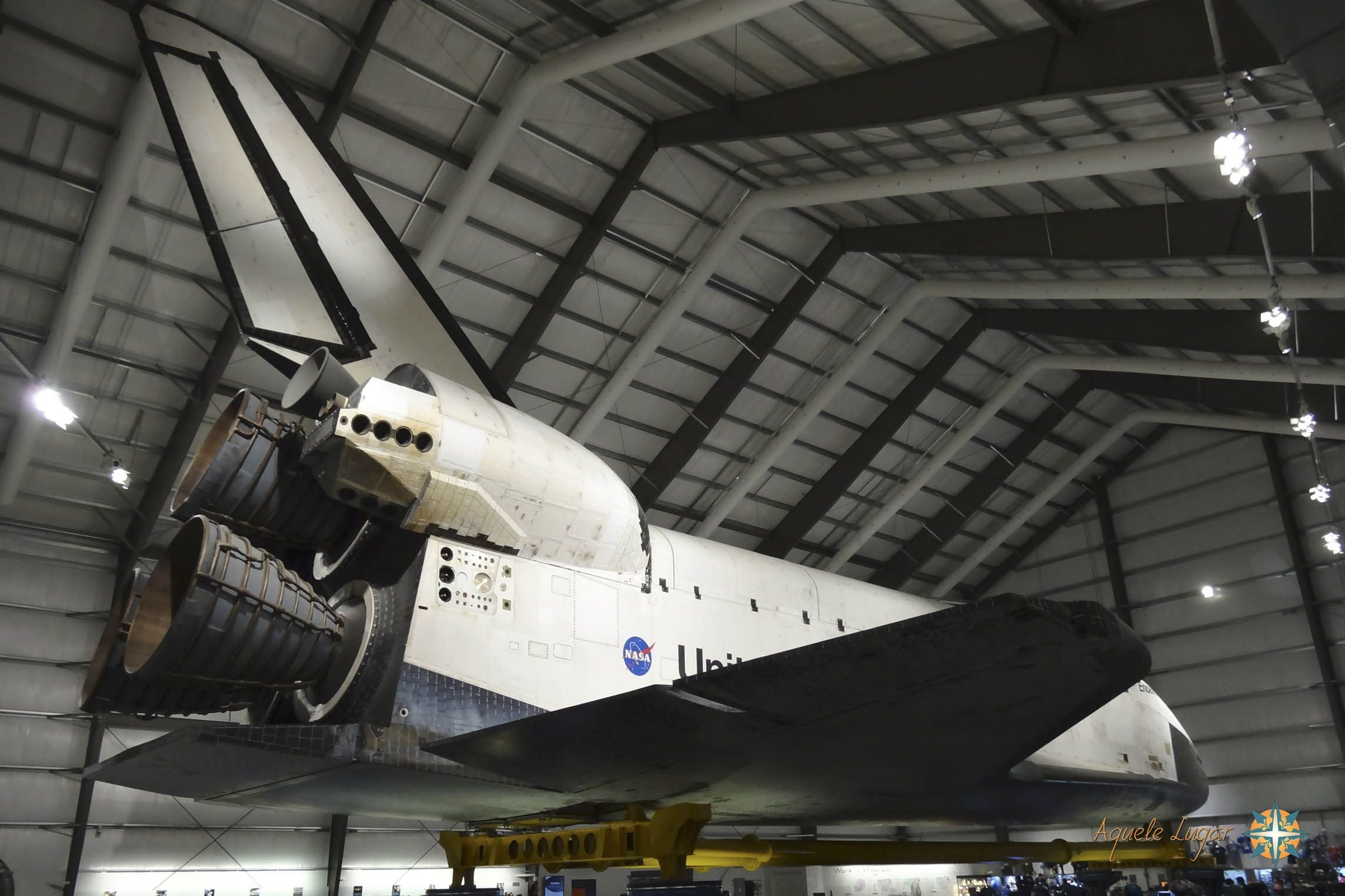 Vehicle in Space Shuttle Endeavour