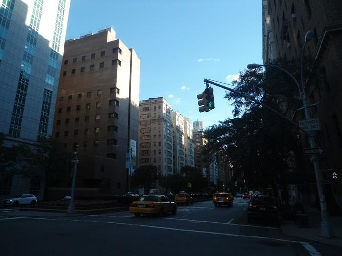 Centro de la ciudad en Madison Avenue