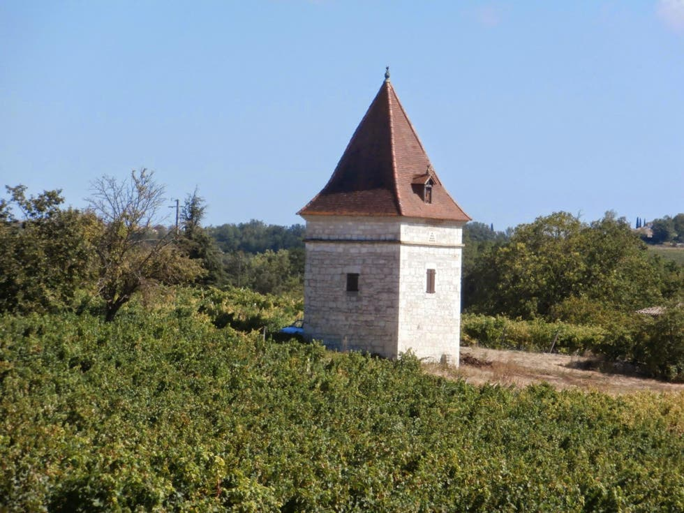 steeple in Andillac