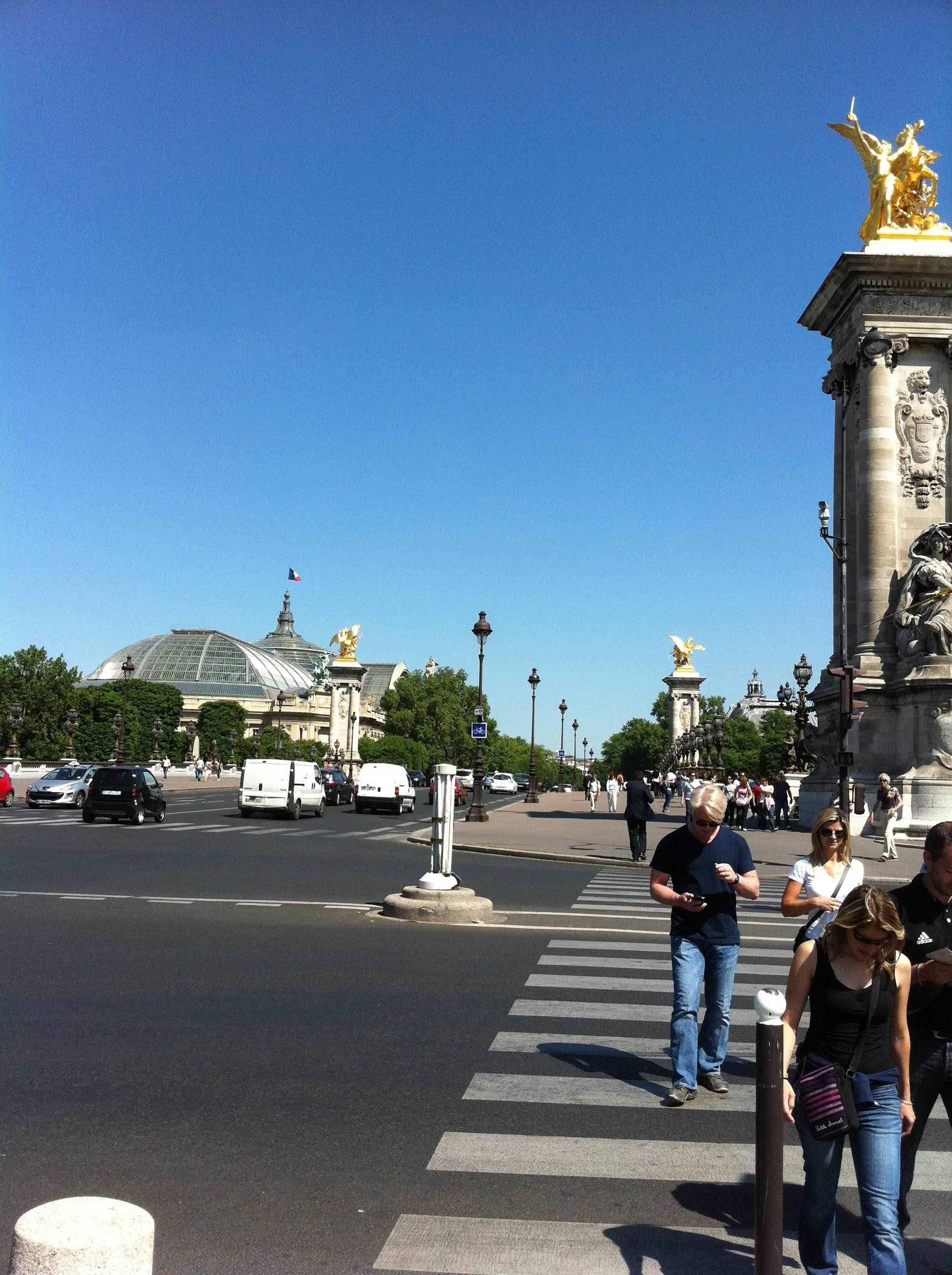 City in Pont Des Invalides