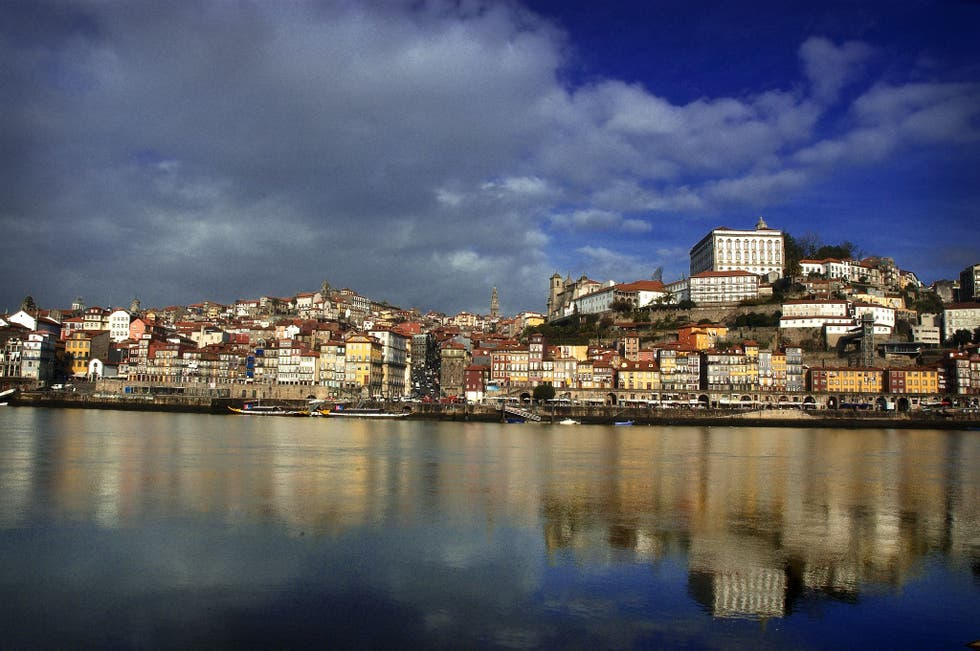 Reflection in Vila Nova de Gaia