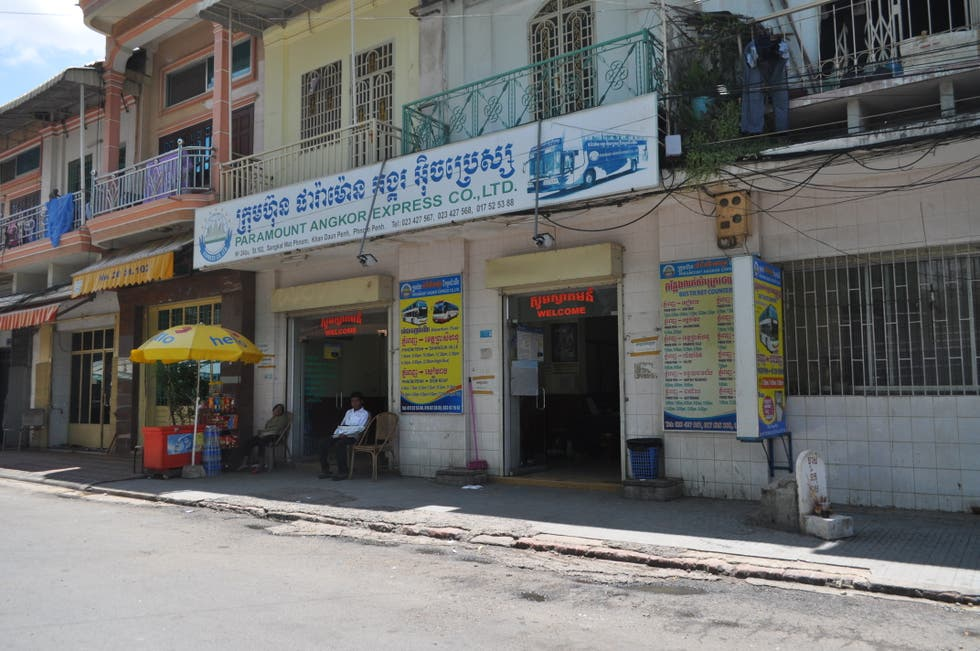 Supermercado en Paramount Angkor Express CO., LTD.