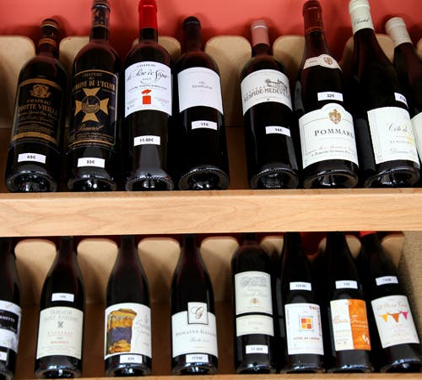 Bebida en Loge des Vins